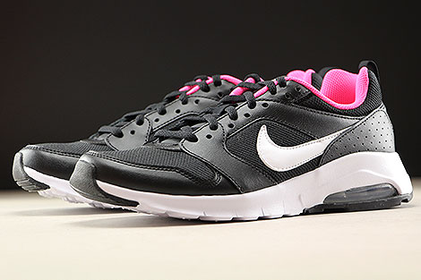 Nike Air Max Motion GS Black White Hyper Pink Sidedetails
