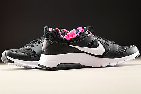 Nike Air Max Motion GS Black White Hyper Pink Inside