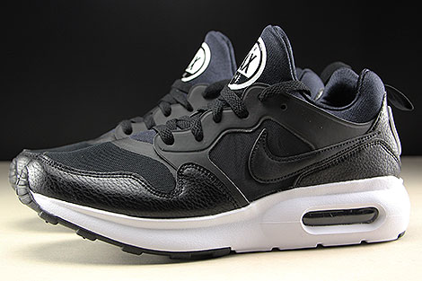 Nike Air Max Prime Black White Profile
