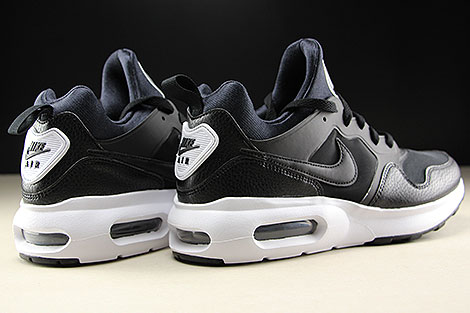 Nike Air Max Prime Black White Back view