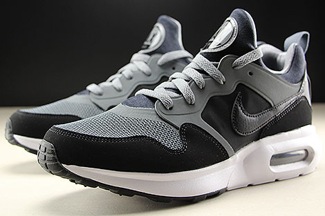 Nike Air Max Prime Cool Grey Black White Sidedetails