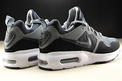 Nike Air Max Prime Cool Grey Black White Back view