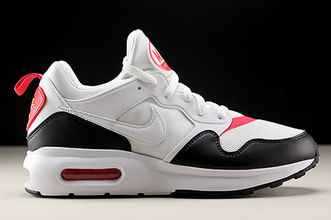 Nike Air Max Prime White Siren Red Black Right