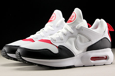 Nike Air Max Prime White Siren Red Black Profile