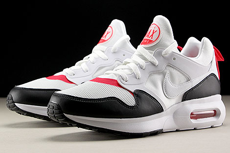 Nike Air Max Prime White Siren Red Black Sidedetails