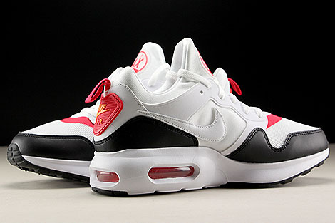 Nike Air Max Prime White Siren Red Black Inside