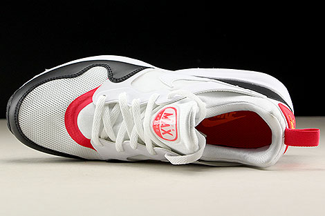 Nike Air Max Prime White Siren Red Black Over view