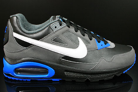 nike air max skyline black blue