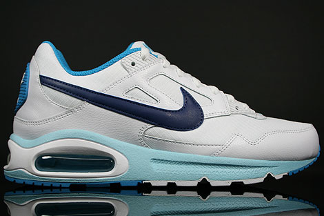 nike air max skyline white blue