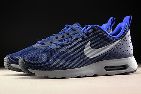 Nike Air Max Tavas Binary Blue Wolf Grey Profile