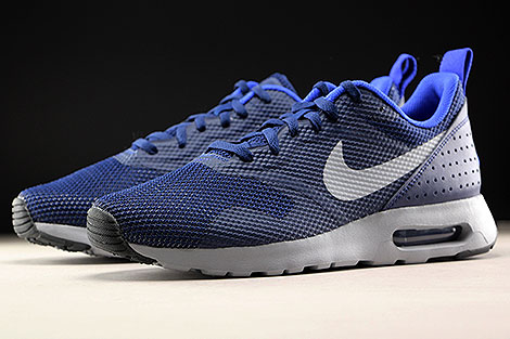 Nike Air Max Tavas Binary Blue Wolf Grey Sidedetails
