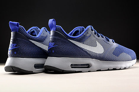 Nike Air Max Tavas Binary Blue Wolf Grey Back view