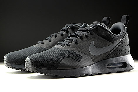 Nike Air Max Tavas Black Anthracite Black Sidedetails