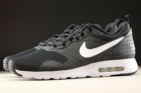 Nike Air Max Tavas Black White Profile
