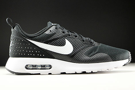 Nike Air Max Tavas Black White Black
