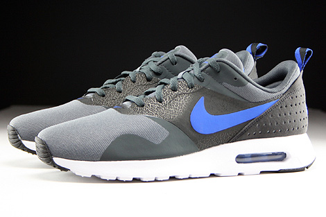 Nike Air Max Tavas Dark Grey Game Royal Anthracite Black Profile