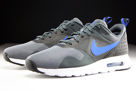 Nike Air Max Tavas Dark Grey Game Royal Anthracite Black Sidedetails