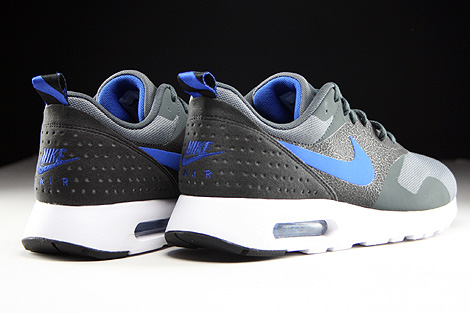 Nike Air Max Tavas Dark Grey Game Royal Anthracite Black Back view