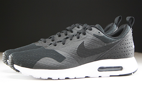 Nike Air Max Tavas Essential Black Black White Profile