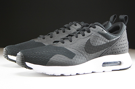 Nike Air Max Tavas Essential Black Black White Sidedetails