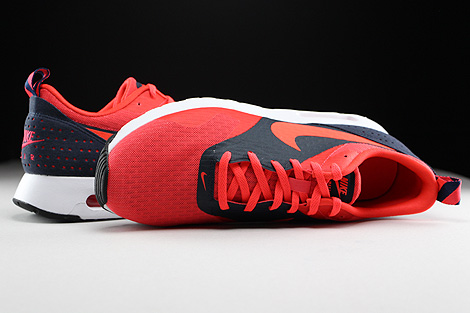 Nike Air Max Tavas Essential Rio Bright Crimson Dark Obsidian Over view