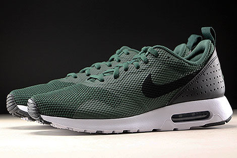 check out f9c24 78ca7 ... Nike Air Max Tavas Grove Green Black White Profile ...