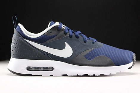 Nike Air Max Tavas Midnight Navy Neutral Grey Dark Obsidian