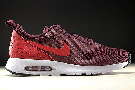 Nike Air Max Tavas Night Maroon Gym Red Black White Right