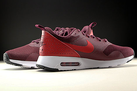 Nike Air Max Tavas Night Maroon Gym Red Black White Inside