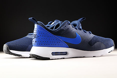 Nike Air Max Tavas Dunkelblau Blau Weiss Innenseite
