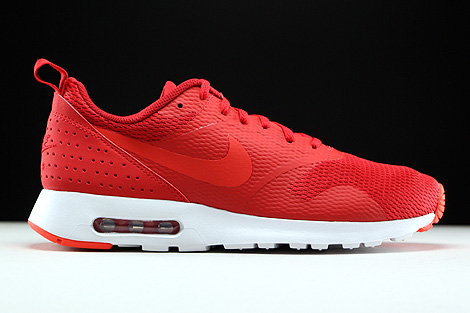 Nike Air Max Tavas University Red Light Crimson White Right