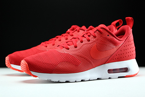 Nike Air Max Tavas University Red Light Crimson White Sidedetails
