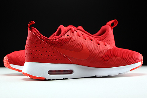 Nike Air Max Tavas University Red Light Crimson White Inside