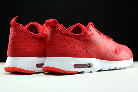 Nike Air Max Tavas University Red Light Crimson White Back view