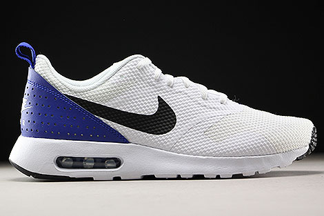Nike Air Max Tavas White Black Paramount Blue Right