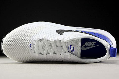 Nike Air Max Tavas White Black Paramount Blue Over view