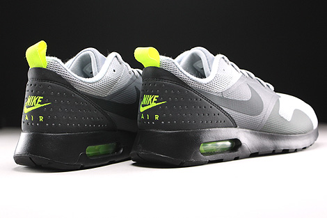 Nike Air Max Tavas Wolf Grey Anthracite Cool Grey Black Back view