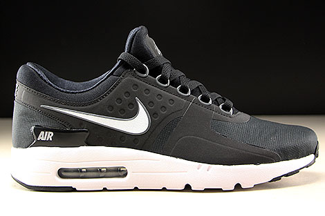 Nike Air Max Zero Essential Black White Dark Grey Right