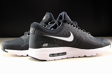 Nike Air Max Zero Essential Black White Dark Grey Inside