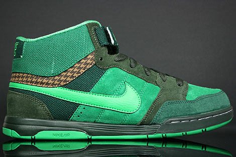 Nike Air Mogan Mid Dark Loden Verde Black Forest Green