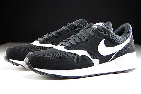 Nike Air Odyssey Black White Neutral Grey Sidedetails