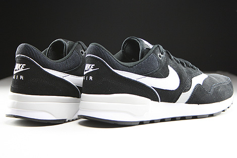 Nike Air Odyssey Black White Neutral Grey Back view