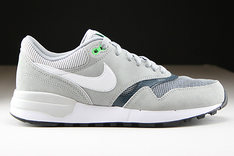 Nike Air Odyssey Silver White Classic Charcoal Right