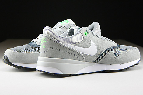 Nike Air Odyssey Silver White Classic Charcoal Inside
