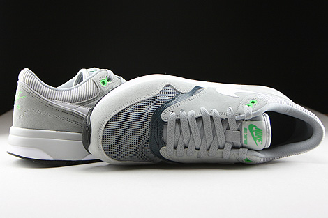 Nike Air Odyssey Silver White Classic Charcoal Over view