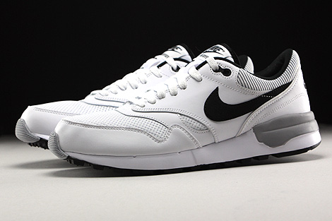 Nike Air Odyssey White Black Wolf Grey Profile