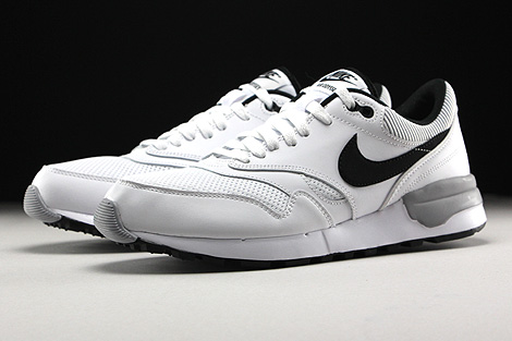 Nike Air Odyssey White Black Wolf Grey Sidedetails