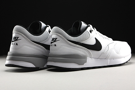 Nike Air Odyssey White Black Wolf Grey Back view