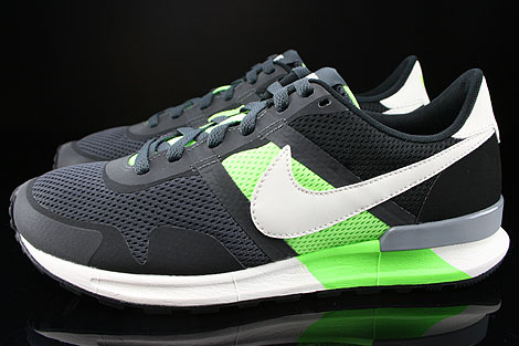 Nike Air Pegasus 83/30 Anthracite Sail Flash Lime Black Profile