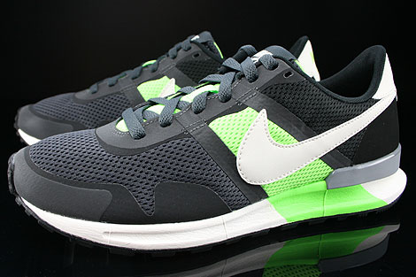 Nike Air Pegasus 83/30 Anthracite Sail Flash Lime Black Sidedetails